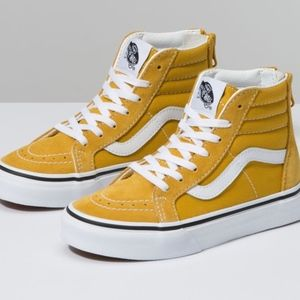VANS Kids SK8-Hi High Top Size 13 Worn ONCE